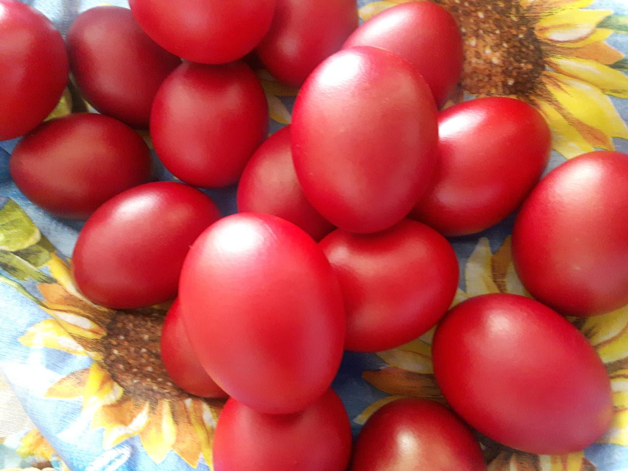 Велигденски јајца на мојата трпеза