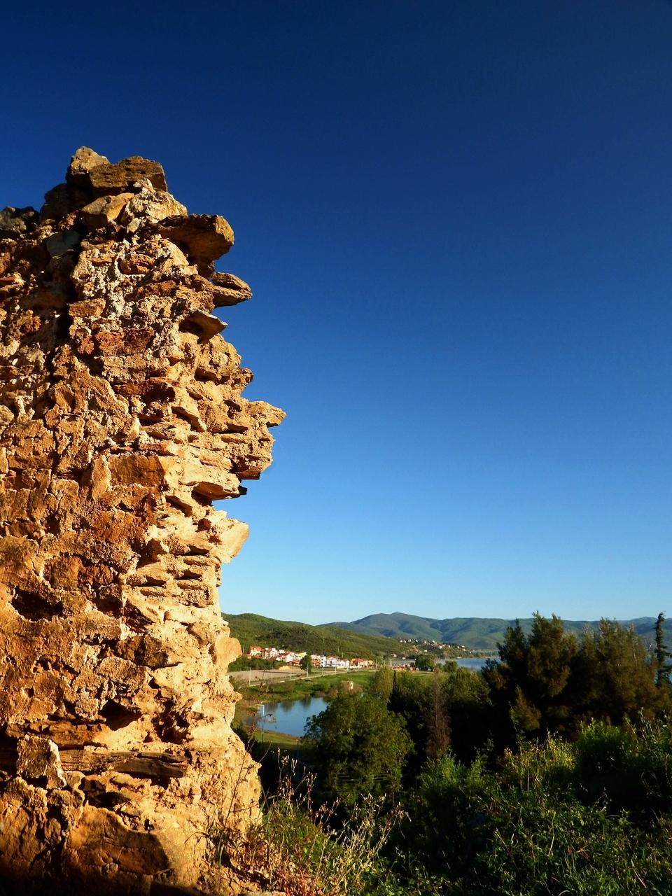 Поглед  кон Дојранско Езеро од црквата Св.Илија