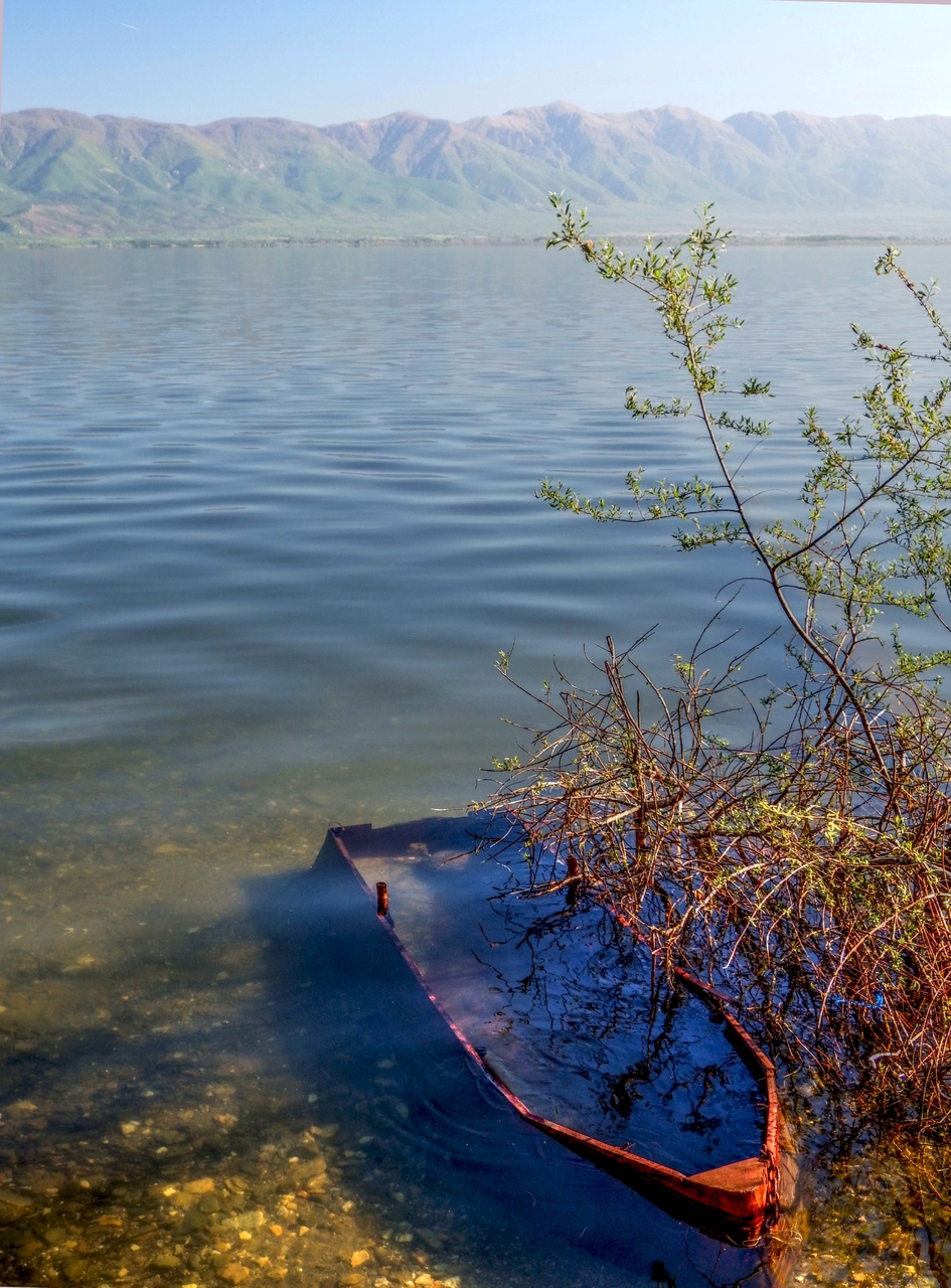Потоната љубов или само стар чамец, Дојранско Езеро
